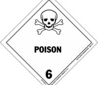 Poison Placard